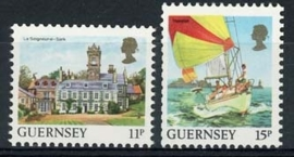 Guernsey, michel 392 A/B , xx