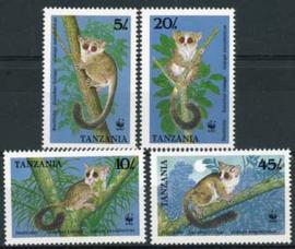 Tanzania, michel 545/48, xx