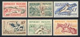 Frankrijk, michel 978/83, xx