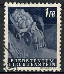 Liechtenstein, michel 300, o