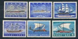 Griekenland, michel 668/73, xx
