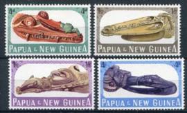 Papua N.Guinea, michel 73/76, xx