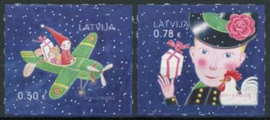Letland, michel 1004/05, xx