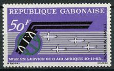 Gabon, michel 190, xx