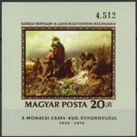 Hongarije, michel blok 120 B, xx