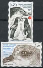 Antarctica Fr., michel 136/37, xx