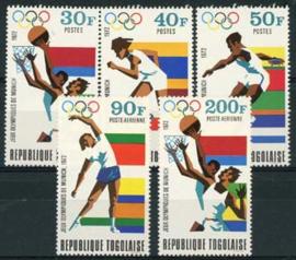 Togo, michel 930/34, xx