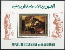 Mauretanie, michel blok 28, xx
