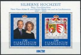 Liechtenstein, michel blok 14, xx