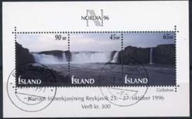 IJsland, michel blok 19, o