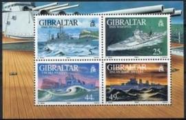Gibraltar, michel blok 19, xx