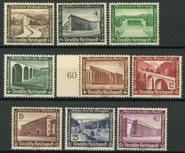 Duitse Rijk, michel 634/42, xx