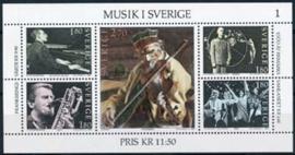 Zweden, michel blok 11, xx