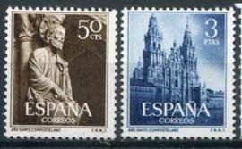 Spanje, michel 1025/26, xx