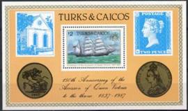 Turks, michel blok 68, xx