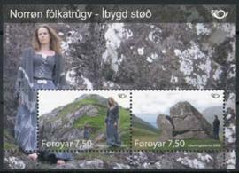 Faroer, michel blok 22, xx