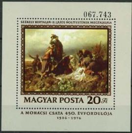 Hongarije, michel blok 120 A, xx