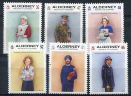 Alderney, michel 421/26, xx