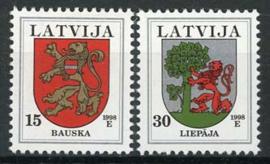 Letland, michel 485/86, xx