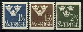 Zweden, michel 492/94,xx