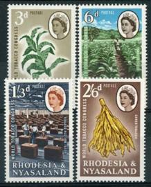 Rhodesie & Nyasaland, michel 45/48, xx