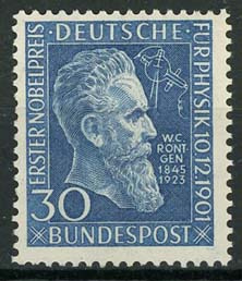 Bundespost, michel 147, xx