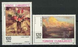 Turkije, michel 2759/60, xx