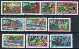Niue , michel 156/65, o