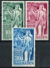 Baden, michel 50/52, x