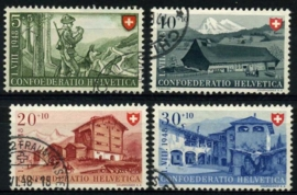 Zwitserland, michel 508/11,o