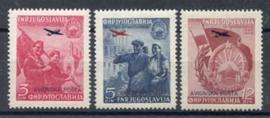Joegoslavie, michel 575/77, xx