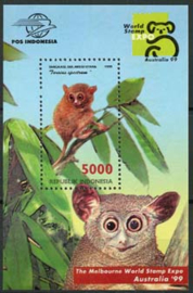 Indonesie, zbl. blok 162, xx