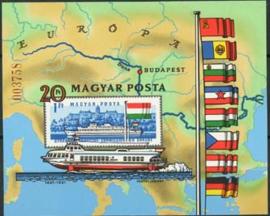 Hongarije, michel blok 153 B, xx