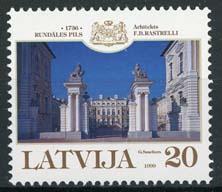 Letland, michel 510, xx