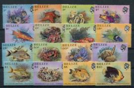 Belize, michel 729/44, xx