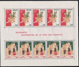 Monaco, michel blok 17, xx