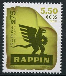 Estland, michel 639, xx