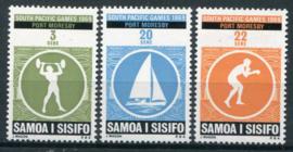 Samoa, michel 201/03, xx
