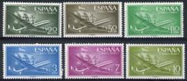 Spanje, michel 1073/78, xx