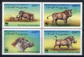 Djibouti, michel 678/81, xx