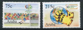 Aruba, nvph 361/62, xx