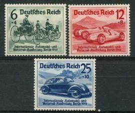 Duitse Rijk, michel 686/88, xx