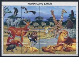 Tanzania, michel kb 2168/83, xx