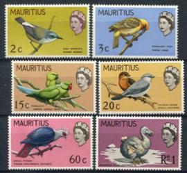 Mauritius, michel 319/24, xx