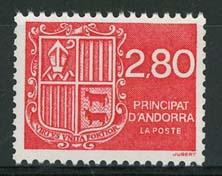 Andorra Fr., michel 458, xx