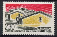 Andorra Fr., michel 416, xx