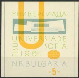 Bulgarije, michel blok 8, xx