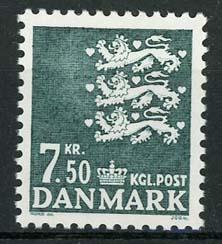 Denemarken, michel 1179, xx