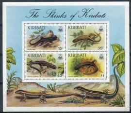 Kiribati, michel blok 13, xx