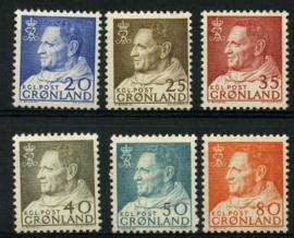 Groenland, michel 52/57, xx